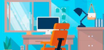 renovando colores en una oficina
